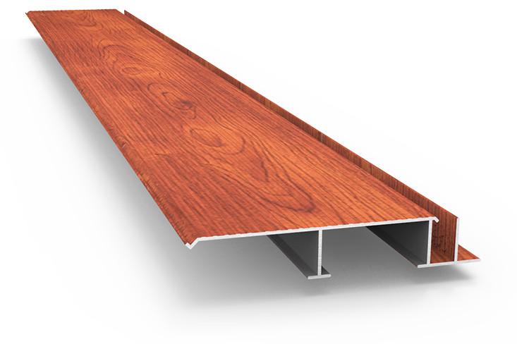 Planchers d aluminium faciles entretenir et installer for Planche bois gris